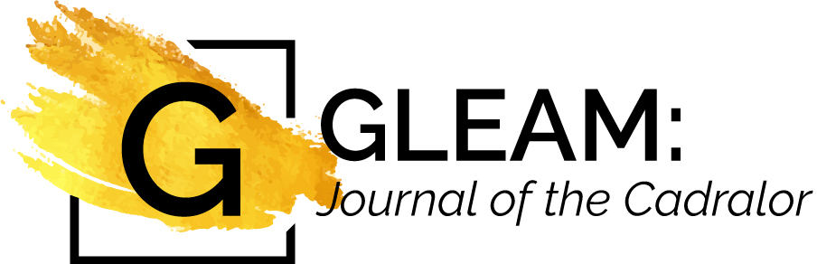 Gleam Poetry Journal Logo